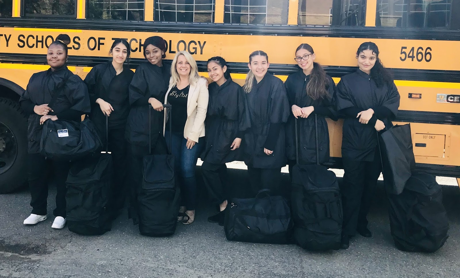 Cosmetology Students at County Prep Pass NJ State Board